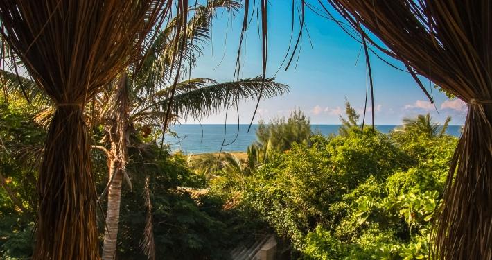 Unterkunft in Tofo Mosambik