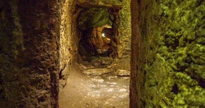 Kerker im Blarney Castle Cork
