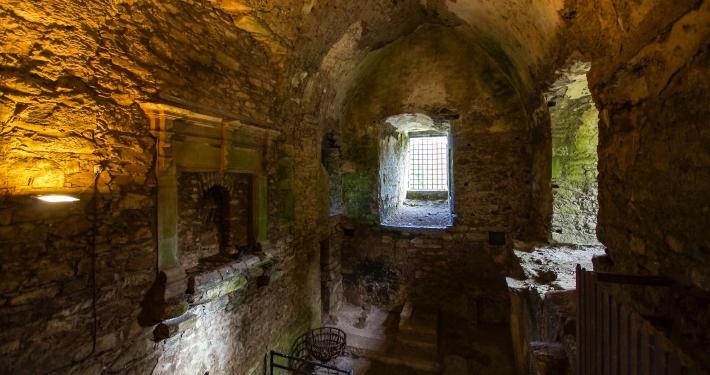 Wohnräume im Blarney Castle Cork