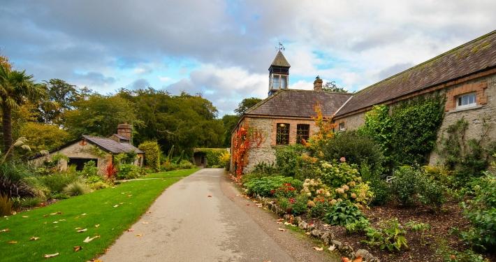 Gartenanlage des Blarney Castle Cork