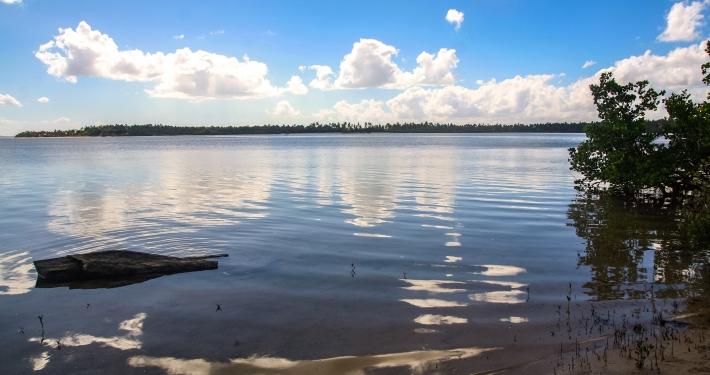 Lagune von Inhambane, Mosambik