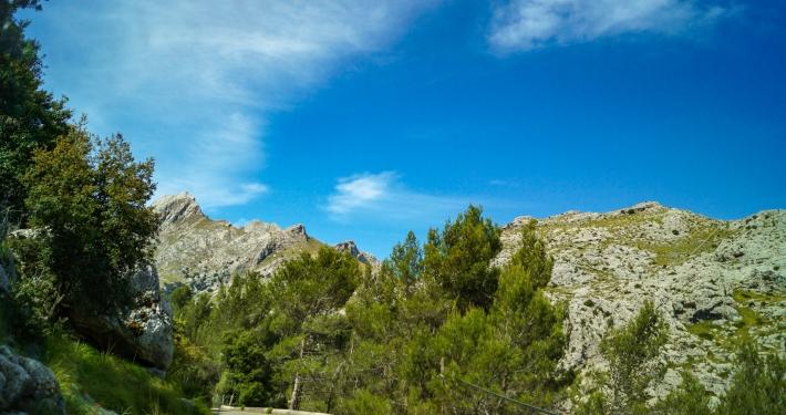 Weg zu Sa Calobra Mallorca