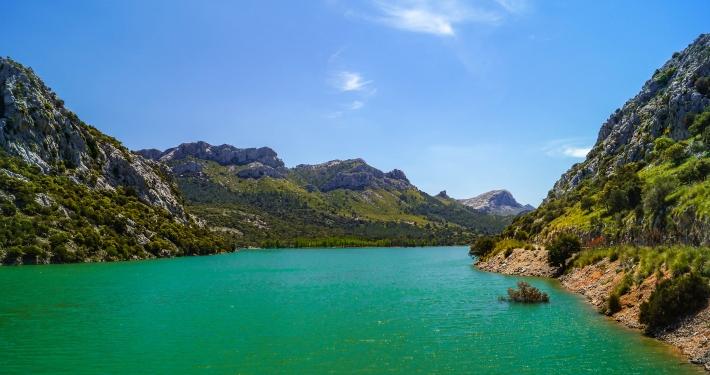 Stausee Gorg Blau Mallorca