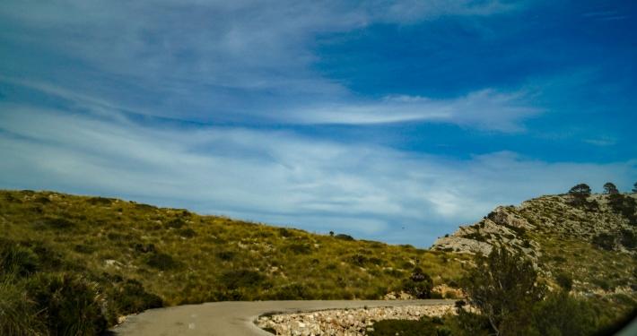 Abenteuerliche Straße zum Cap Formentor