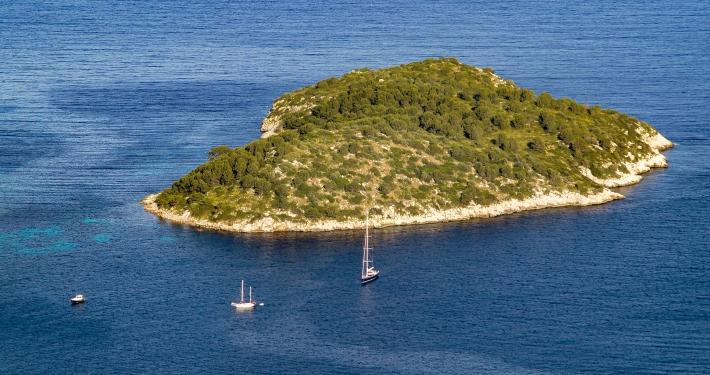 Kleine Insel vor Formentor