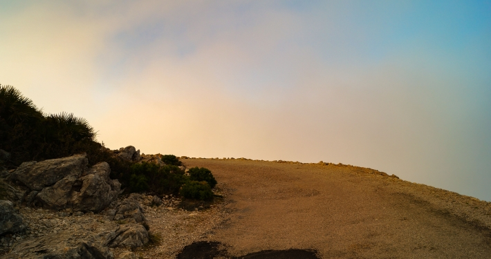 Nebeldecke Cap Formentor