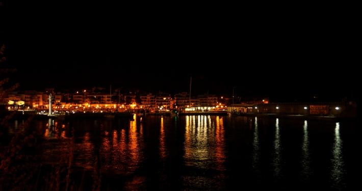 Cala Ratjada bei Nacht