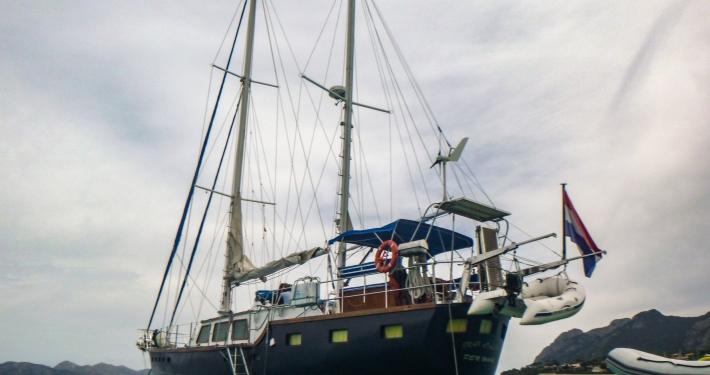 """Unser"" Segelboot"
