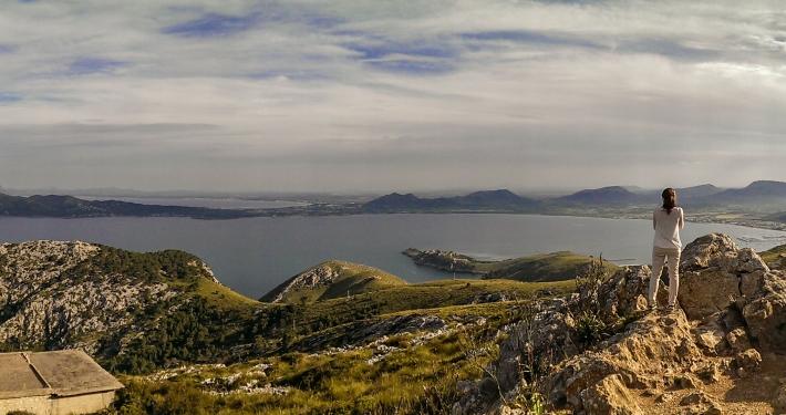 360° Panorama auf Formentor