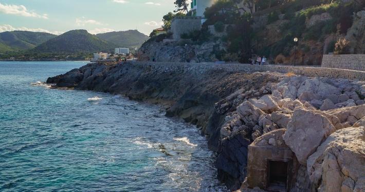 Küstenweg Richtung Cala Gat