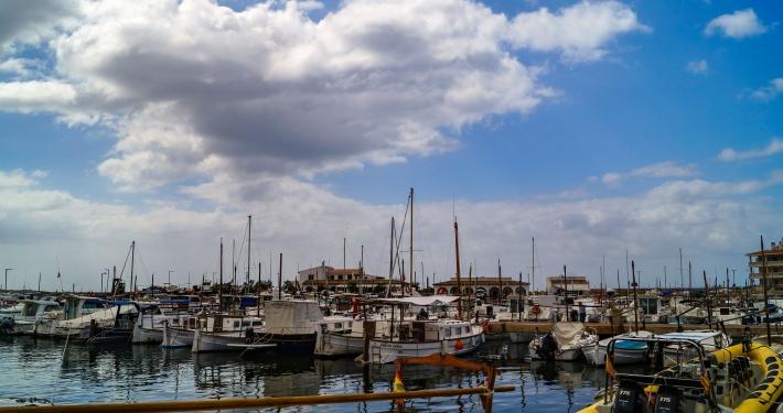 Hafen Colonia Sant Jordi Mallorca