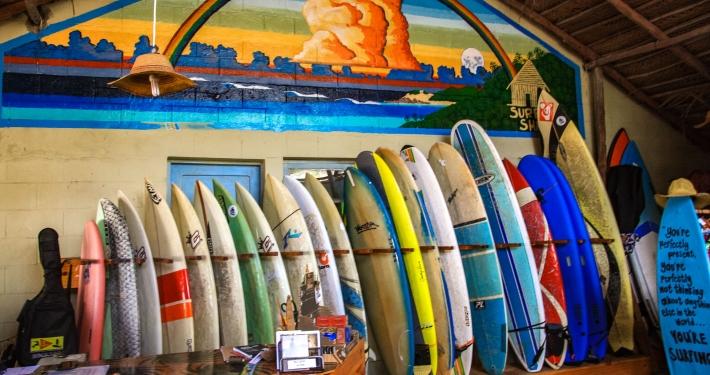Surfshack Tofo Mosambik
