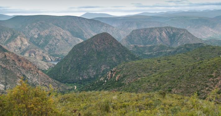Baviaanskloof Südafrika