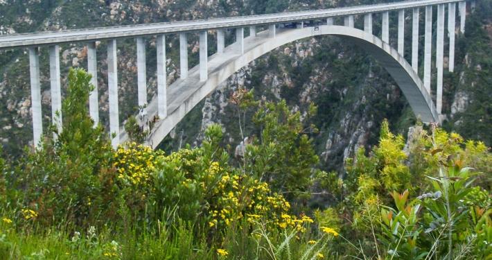 Bloukransbrücke Südafrika
