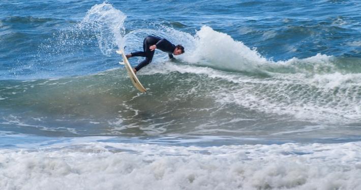 Surfer an der Garden Route Südafrika