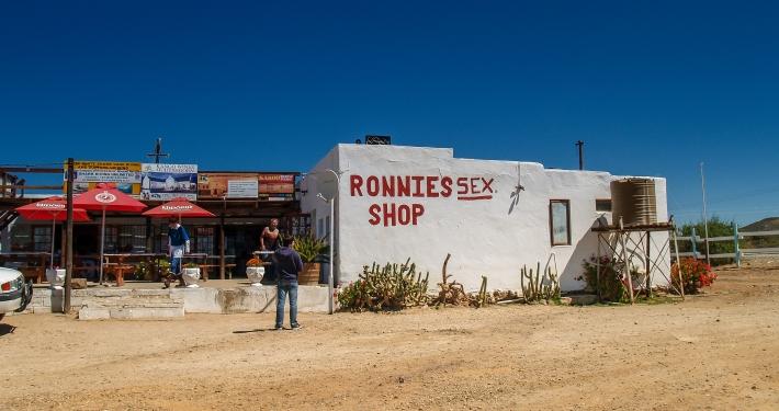 Ronnies Sexshop Route 62 Südafrika