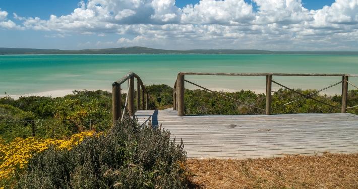 Langebaan Lagune Südafrika