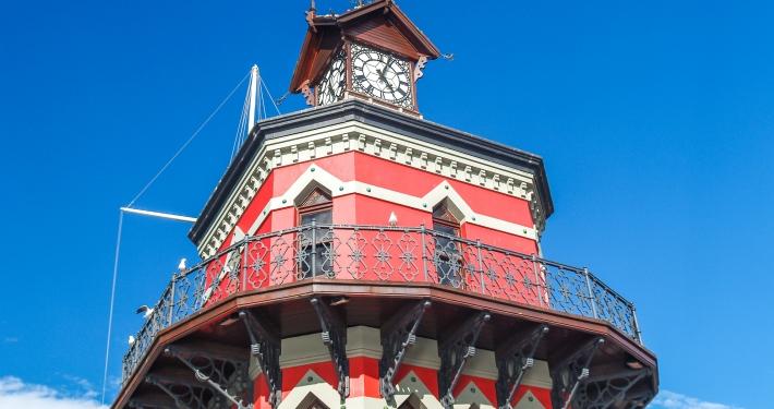 Clocktower in Kapstadt, Südafrika