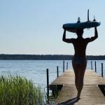 See in Klitmøller SUP Yoga