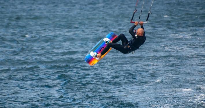 Kitesurfer Agger