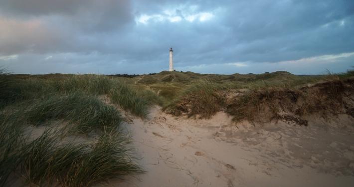Leuchtturm Lyngvig Fyr Hvide Sande