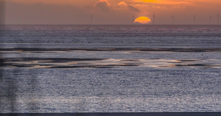 Sonnenuntergang Blåvand