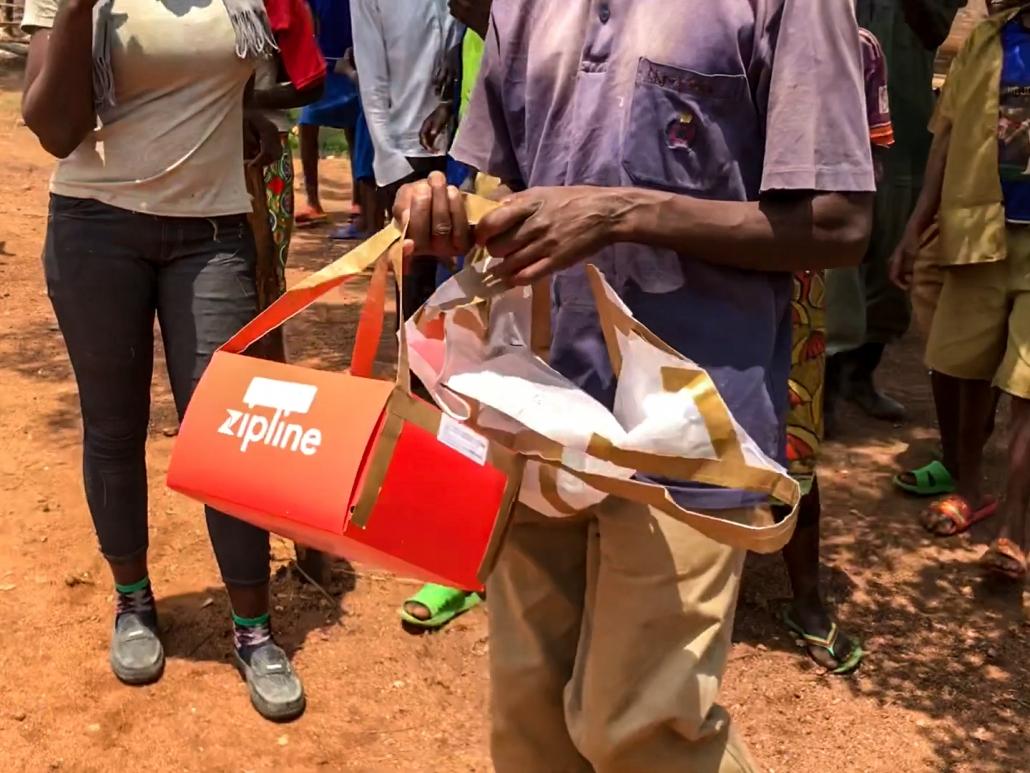 Drohnenlieferung Ruanda-1