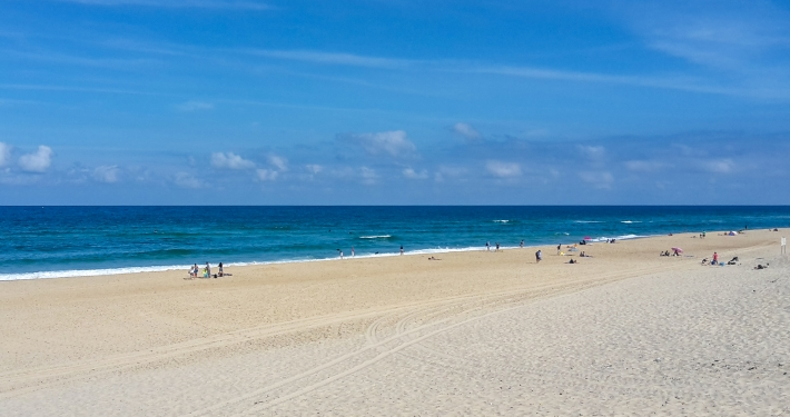 Contis Plage Atlantikküste Frankreich