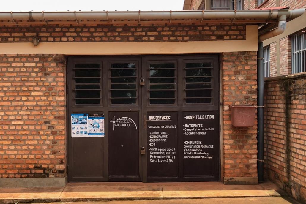 Krankenhaus Gikonko Ruanda