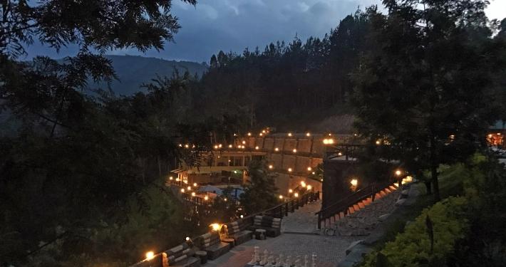 Lodge Bwindi Nationalpark Ruanda Uganda